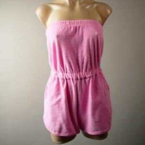 Urban Outfitters terry cloth romper coverup medium